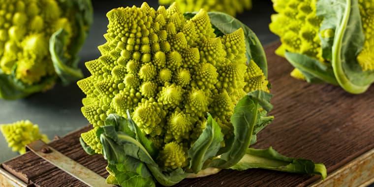 Weird looking vegetables