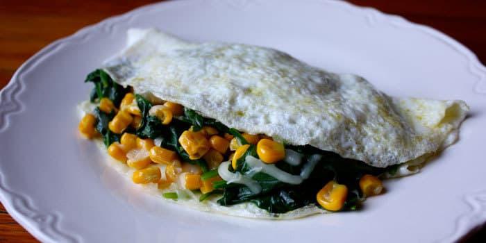 Spinach Omelet With Gouda The Beachbody Blog