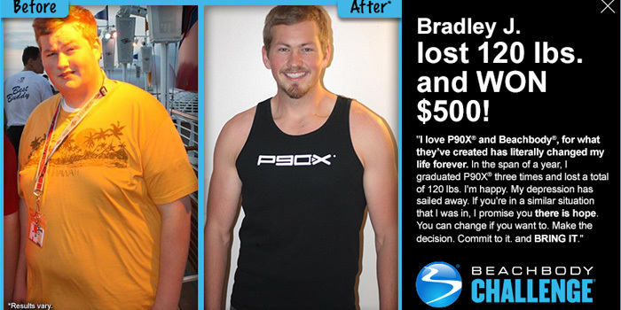 "3 Pound Weights Manufacturers Mail: ""I Graduated P90X Three Times And Lost A Total Of 120"