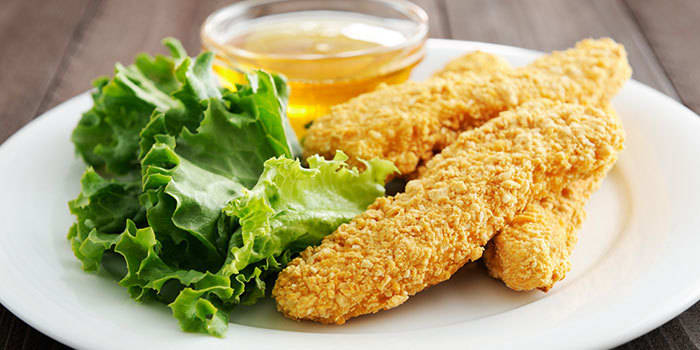 baked honey mustard breaded chicken recipe