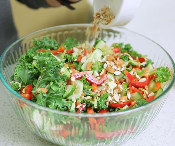 Raw kale nutrition