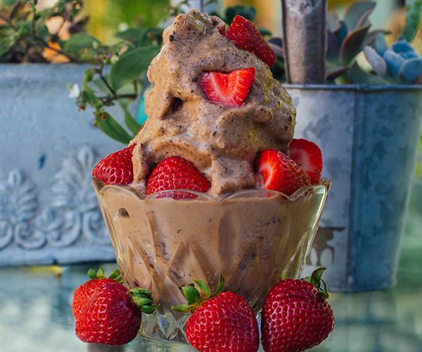 Chocolate Peanut Butter Shakeology Ice Cream | BeachbodyBlog.com