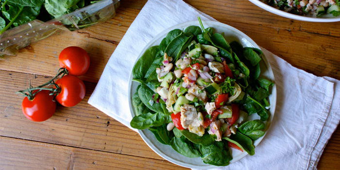 Tuna and White Bean Salad | The Beachbody Blog