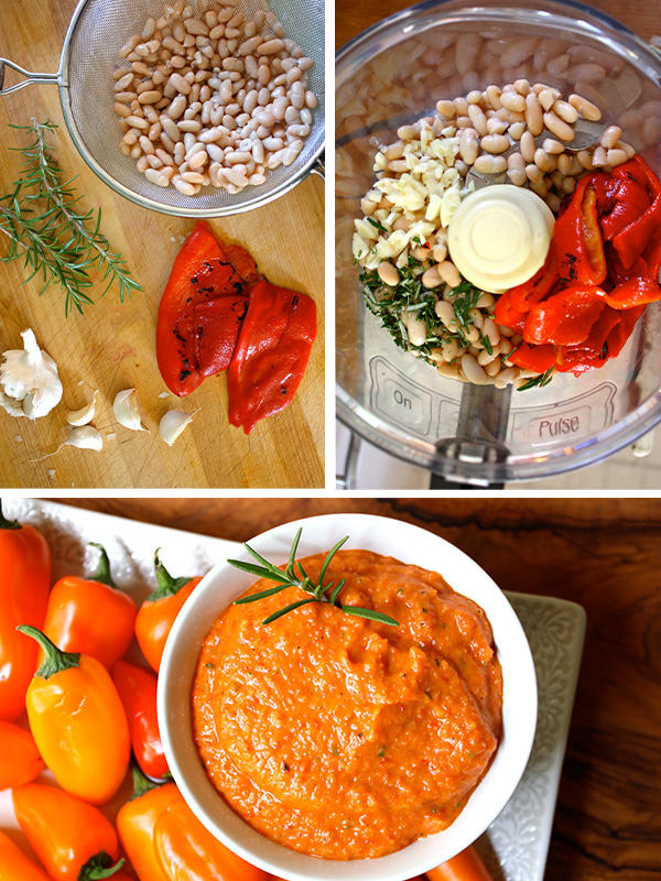 White Bean and Roasted Red Pepper Hummus | BeachbodyBlog.com