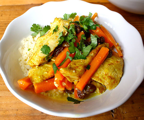 Curried Chicken with Couscous | BeachbodyBlog.com