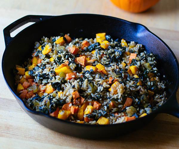 Roasted Pumpkin, Sweet Potato, and Brown Rice Pilaf | BeachbodyBlog.com