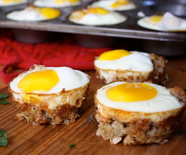 Turkey And Stuffing Egg Cups The Beachbody Blog