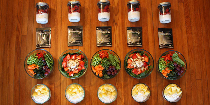 this healthy 12001500 calorie vegetarian meal prep is a