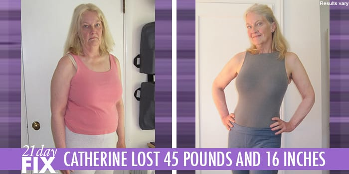21 Day Fix Results Catherine H