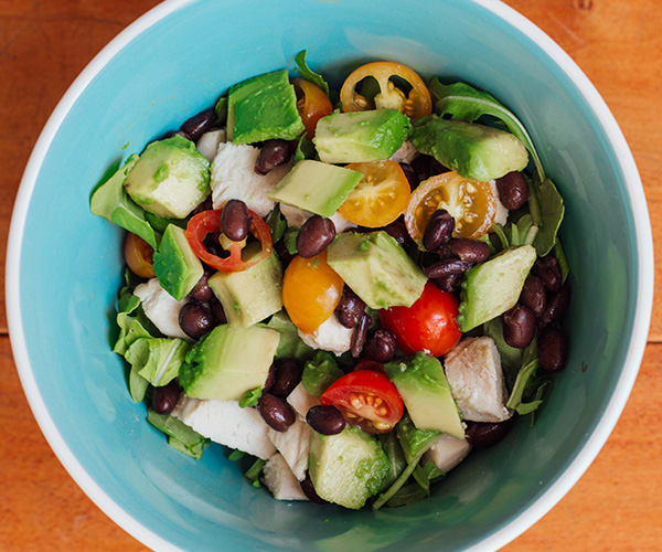 has just five ingredients, avocados shine. In this recipe, black beans ...