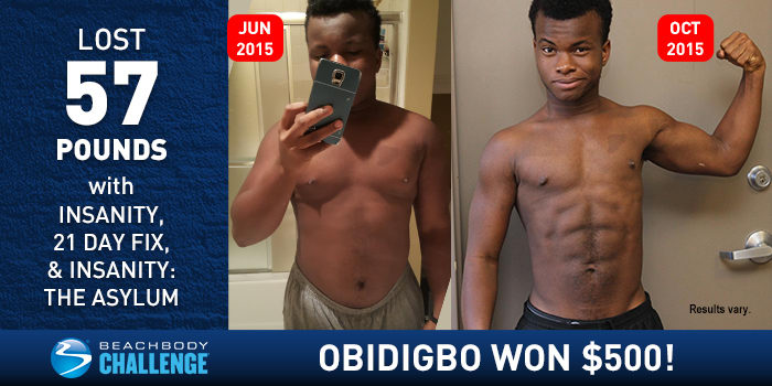 Beachbody Results: College Student Loses 57 Pounds, Wins ...