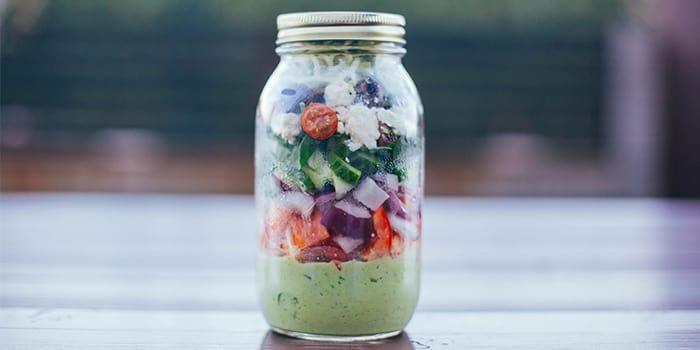 Greek Zucchini Salad in a Mason Jar | BeachbodyBlog.com