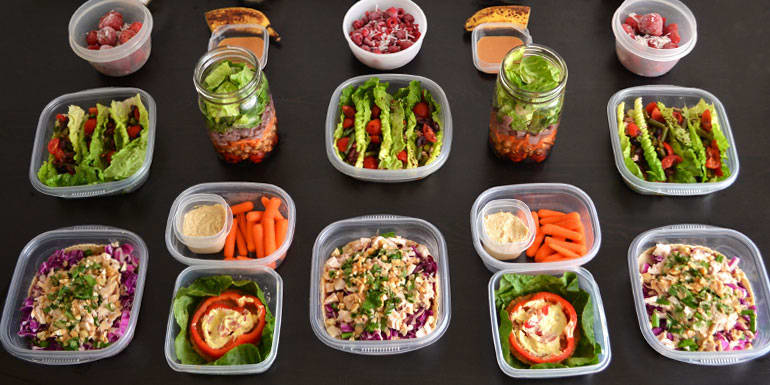No-Cook Meal Prep for the 1,200–1,500 Calorie Level | The ...