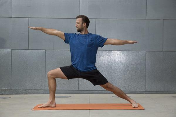 3 Week Yoga Retreat Vytas Warrior II