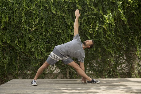 3 Week Yoga Retreat Vytas Triangle