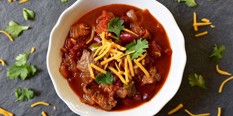 Easy healthy beef chili recipes