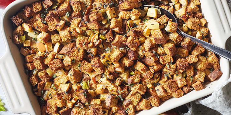 Apple and Chestnut Stuffing | The Beachbody Blog