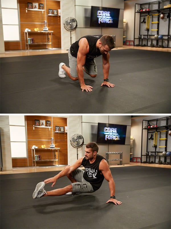 Master the Three Toughest Moves in Core de Force