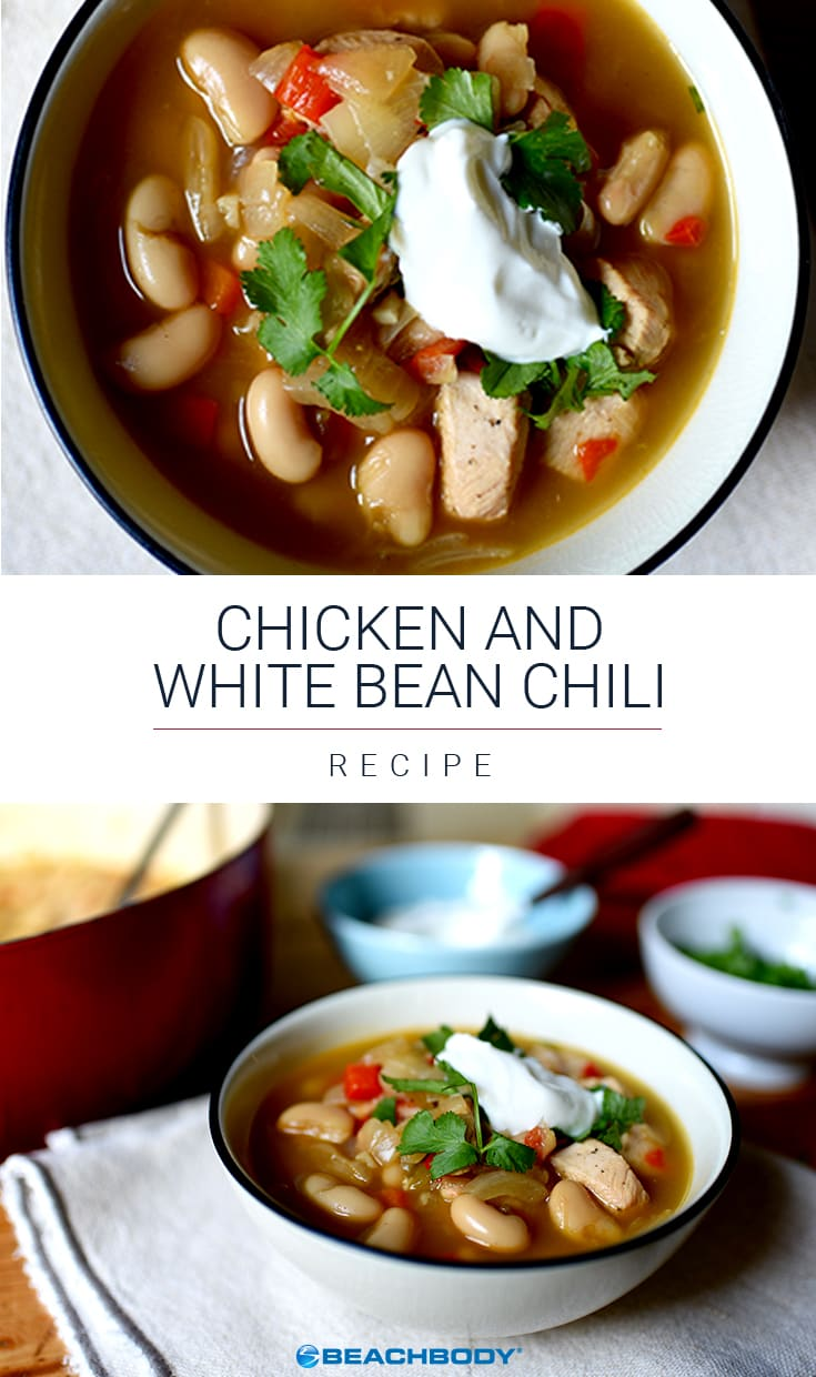 Chicken and White Bean Chili | The Beachbody Blog