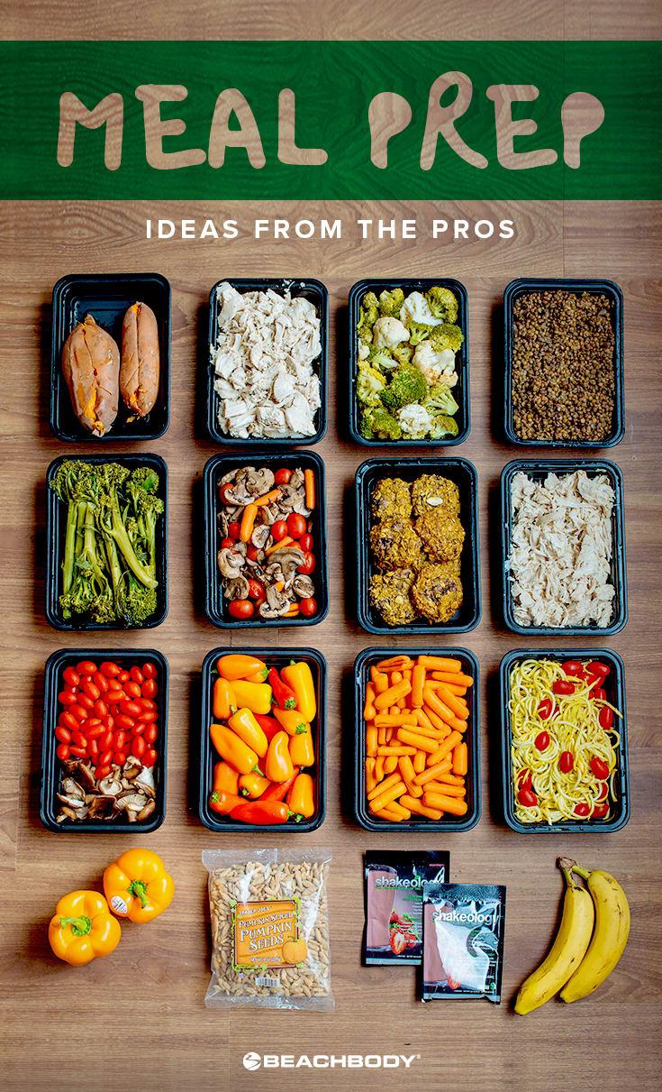 Meal Prep Ideas from the Pros | The Beachbody Blog