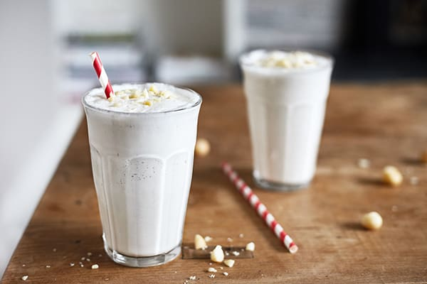 White Chocolate Macadamia Nut Smoothie