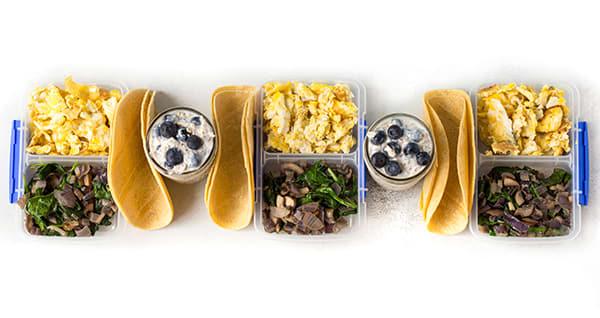 Meal Prep on a Budget CORE DE FORCE1800-2100 - Breakfasts
