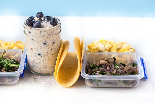 Meal Prep on a Budget CORE DE FORCE 1800-2100 - Breakfasts