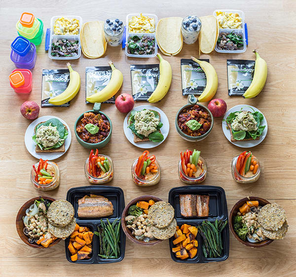 Meal Prep on a Budget CORE DE FORCE 1800-2100 - Full Meal Prep