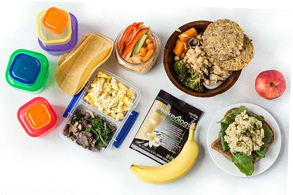 Meal Prep on a Budget CORE DE FORCE 1800-2100 - MWF