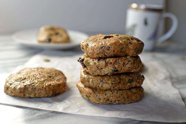 No-Bake Shakeology Breakfast Cookies