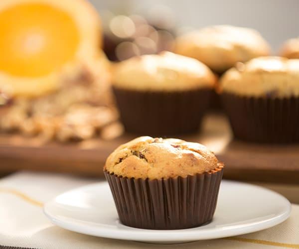 FIXATE Valentine's Day Recipes - Vegan Orange Cherry Muffins