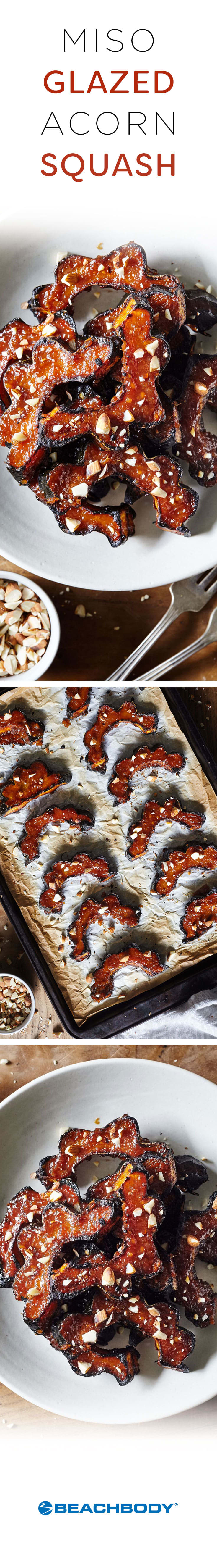 Miso-Glazed Acorn Squash