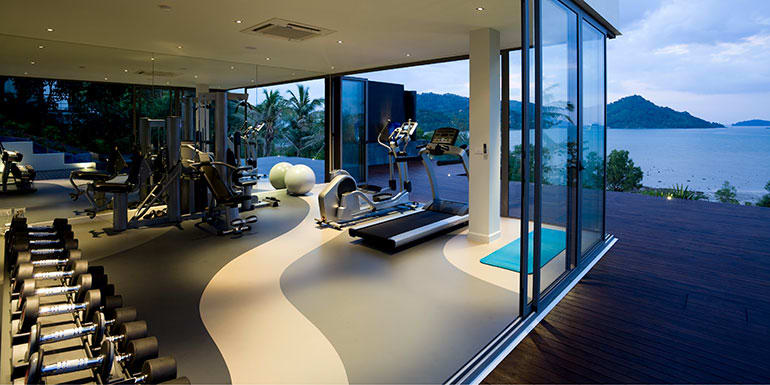Why You Get Workout Headaches home gym