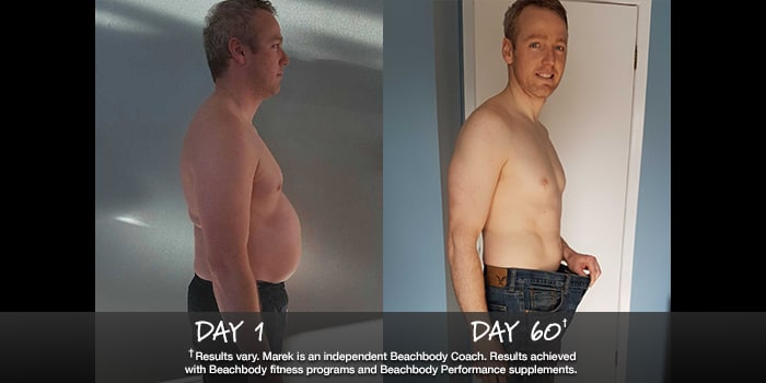 INSANITY Results: Marek Lost 41 Pounds in Just 60 Days!