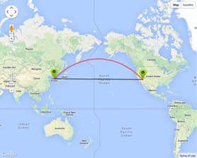 Going The Distance For Summit Team Beachbody Coach - Us distance map