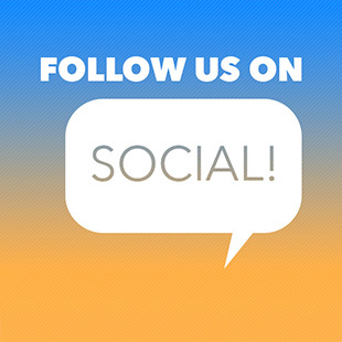 Follow Us on Social!