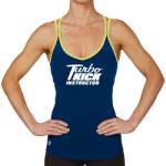 Turbo Kick Instructor Jessica Crossback Tank