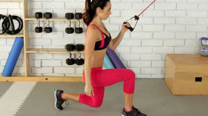 Lunge Row Twist with Autumn Calabrese