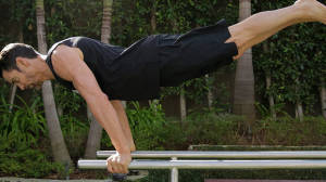Explosive Parallel Bar Workout with Tony Horton