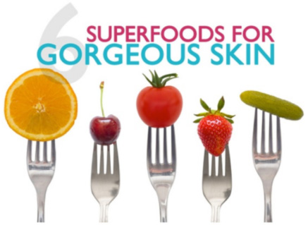 Superfoods for Gorgeous Skin