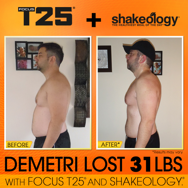 Transformation Tuesday – T25 + Shakeology Special Edition