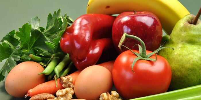 fruits vegetables nuts