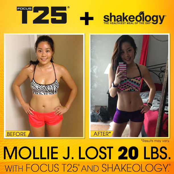 T25 + Shakeology Success - Shakeology