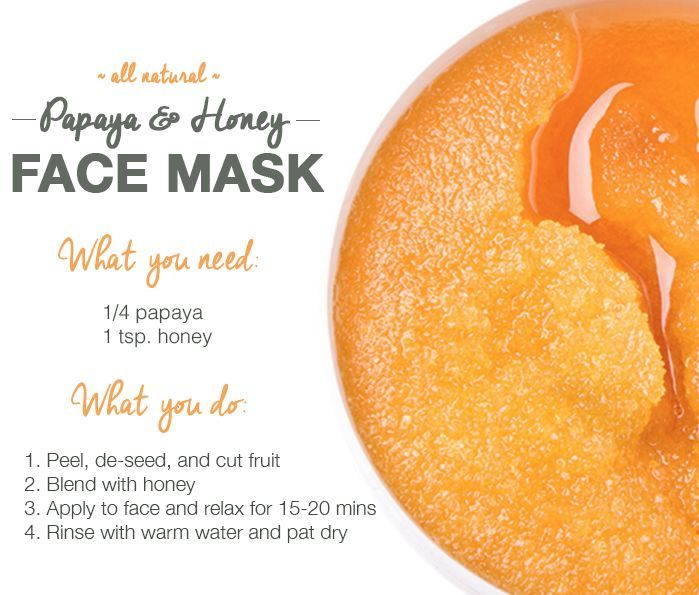 4 DIY Face Mask Recipes from Superfoods