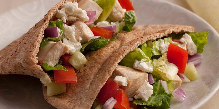 Greek Pita Sandwich Greek Chicken Pita
