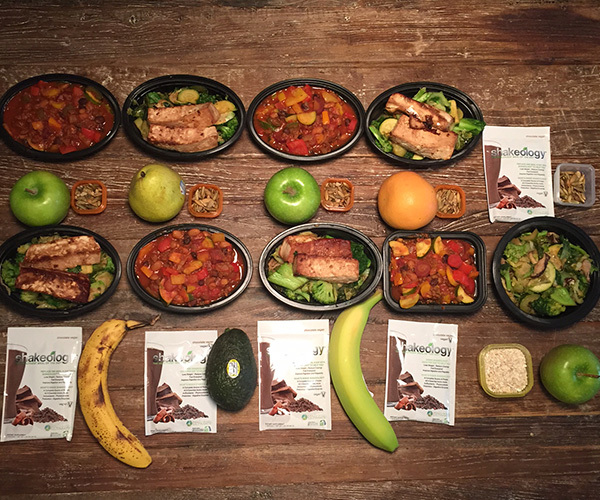 Meal Prep Mondays, vegetarian meal prep for 21 Day Fix EXTREME