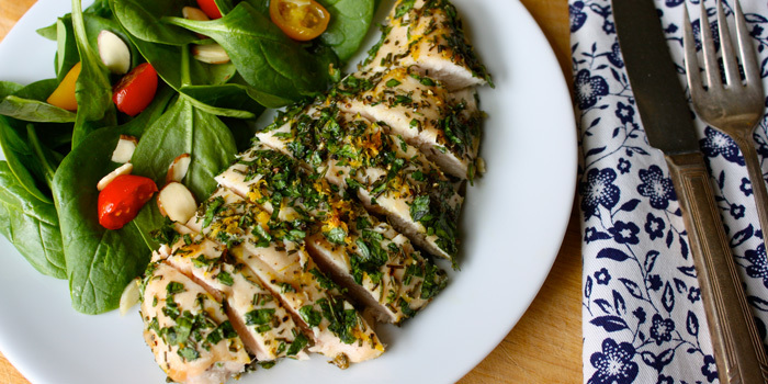 lemon herb chicken breast recipe