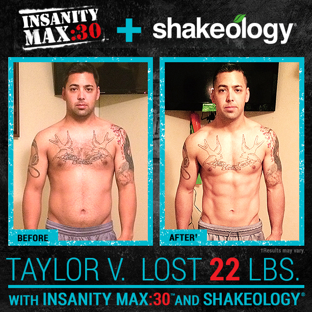 INSANITY MAX:30 and Shakeology - Intense Workouts, Nutrition