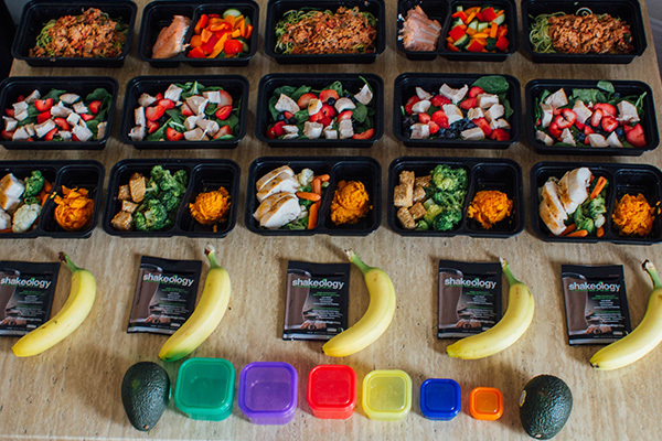 Image result for One-Week Healthy Meal Plan Example