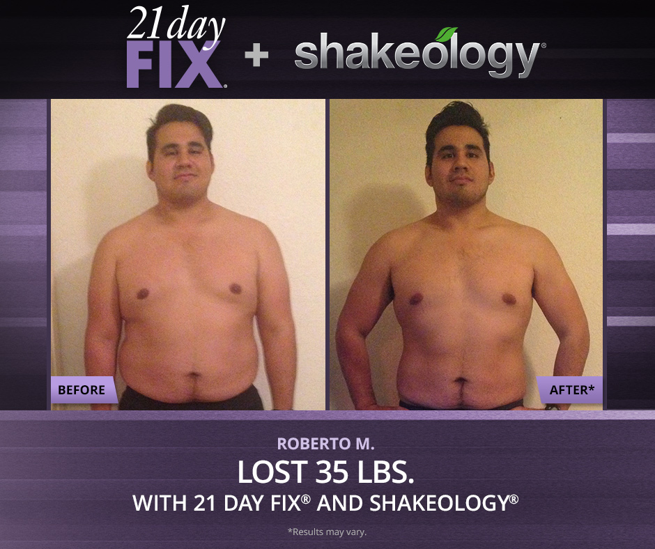 21 day fix male diet
